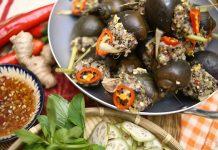 Ẩm thực mỗi ngày: Cách làm món ốc bươu nhồi thịt ngon miệng